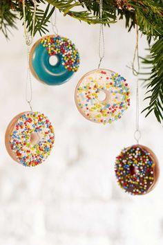 Donut Ornament Set