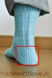 French tutorial socks starting from the tip French Tutorial, Little Cotton Rabbits, Knitted Slippers, Girls Socks, My Socks, Knitting Accessories, Drops Design, How To Start Knitting, Knitting Socks