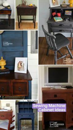 Diy Furniture Renovation, Diy Furniture Plans Wood Projects, Repurposed Furniture, Furniture Makeover, Home Furniture, Furniture Storage, Refinished Furniture, Kitchen Space Savers, Decoupage