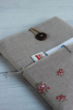Laptop sleeve Case Cover for 13 inch/ pocket/ by sandrastju