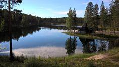 Ahveroisen järvi. Rokua Health & Spa Hotel, Finland.