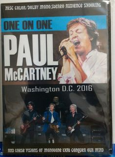 Paul McCartney / Washington D.C, USA 2016 DVD version Unrated Edition