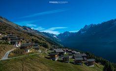 Hiking from LauchernAlp to FaflerAlp: The Lötschental Höhenweg Switzerland, Landscape Photography, Beautiful Places, Scenery, Hiking, Posts, Mountains, Travel, Collection