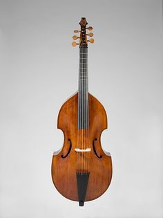 Bass Viola da Gamba Former Attribution: John Rose  (2nd half of the 16th century–early 17th century)