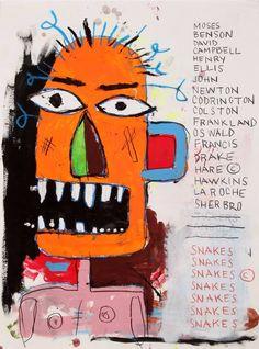 🀄️JMB-IMAGE REUSE. Andy taught him well. You like it reuse it Jean Michel Basquiat, Jm Basquiat, Robert Mapplethorpe, Robert Rauschenberg, Sgraffito, Keith Haring, Pop Art Andy Warhol, Bad Painting, Art Brut