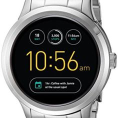 Fossil-Q-Founder-Gen-1-Touchscreen-Silver-Smartwatch-0