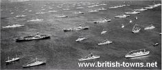 Carriers as far as the eye can see 1953