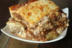 Moussaka (Greek Lasagna) - one of my favorite dishes made GF and low carb!