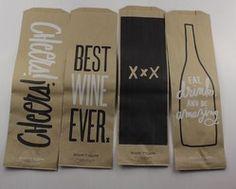Easy, Tiger Brown Paper Liquor Bag Set from PopSugar Must Have. $2 for the set.