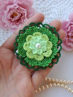 Pdf skill level-medium the pattern contains: - photo tutorials Crochet Puff Flower, Crochet Flower Patterns, Crochet Motif, Crochet Flowers, Crochet Ideas, Diy Crafts Videos, Craft Tutorials, Crafts To Sell, Diy And Crafts
