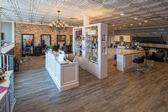 Salon Interiors Presents The Swank Salon In Freehold, NJ As Part Of Our  Past Work Photo Galleries. Swank Salon Selected Styling Chairs From The  Salon ...