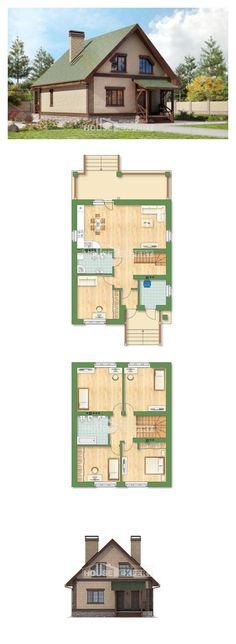 Ev villa projesi 160-011-R | House Expert