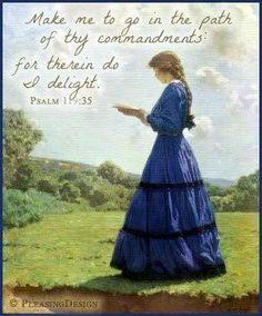 rt@randyskeete  Psalm 119:35 http://www.sdahymnal.net/
