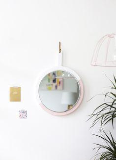 Sugar & Cloth: DIY hanging mirror