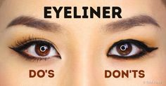 How to Apply Eyeliner Perfectly Based On Your Eye Shape