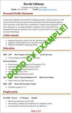 Job Resume Format, Sample Resume, Best Cv Template, Templates, Perfect Cv, Good Cv, Resume Advice, Cv Examples, Secondary School