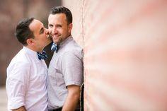 Brooklyn Chic Gay Engagement | Equally Wed - LGBTQ Weddings