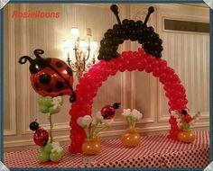 Lady bug decoration