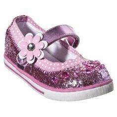 Toddler Girls' Circo® Daviana Glitter Mary Jane Shoes - Pink