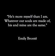 Soulmates.. Oh I I've this! Soooo US!