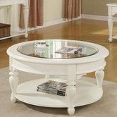 Represents my white washed round tuscan coffee table