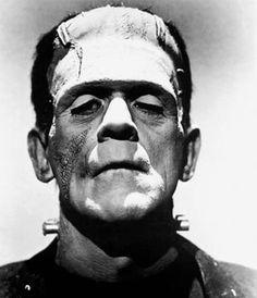 Dr Frankenstein's monster.