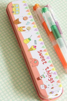 tin pencil case,kawaii japanese,cute japanese bags - Jilly Bean Kids jillybeankids.com