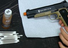 How to Clean your Airsoft Handgun