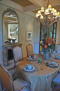 Floor Length Tablecloth Formal Dining