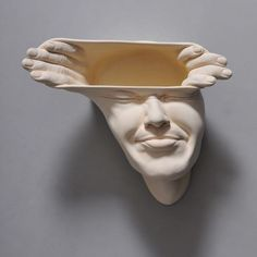 Open Mind Series, Gorgeously Disturbing Porcelain Mask Sculptures That Bend the Mind
