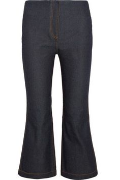 McQ Alexander McQueen - Cropped High-rise Bootcut Jeans - Dark denim - IT