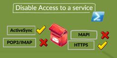 Disable Access to Service by using  PowerShell - http://o365info.com/disable-access-to-service/