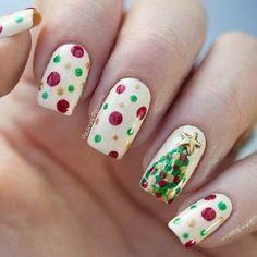 2 Polka Dots Christmas Tree