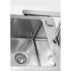 Chiuveta de bucatarie Alveus colectia Pure 10 Teh la nivelul blatului din inox,inclus sifon pop-up - Iak Pop Up, Sink, Bathroom, Home Decor, Sink Tops, Washroom, Vessel Sink, Decoration Home, Room Decor