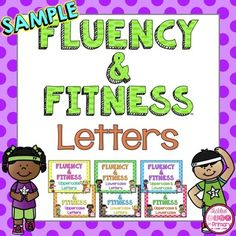 Fluency & Fitness is a great brain break to get your students moving, while practicing their alphabet. This is a FREE sample of my best selling Letter Fluency & Fitness Bundleso you can see how Fluency & Fitness works. Clickhere to watch this youtube video of my nephew doing this letter bundle!How to play: The slideshow will present huge letters that the students need to name, when they see a slide with a kid exercising, they do that exercise until you choose to go to the next slide.