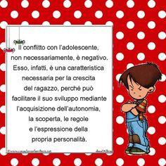 Non necessariamente il conflitto con l' #adolescente è negativo... #educazione #figli #crescita #infanzia #adolescenti #genitore #psicologiainfantile #mamme #bambino #famiglie #papà #consulenzagenitoriale #psicopedagogia #dssaDGhisu