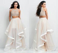 Mesh Two Piece Crop Top with Irregular Long Skirt Dress Set - Oh Yours Fashion - 1 Fabulous Dresses, Elegant Dresses, Sexy Dresses, Fashion Dresses, Long Dresses, Sheer Maxi Dress, The Dress, Dress Skirt, Pleated Maxi