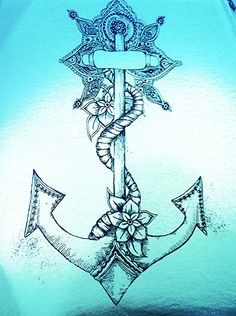 Many people pick an anchor tattoo design to remind themselves that no matter how stormy and rough things get out there and how much the factors around you try to uproot you, you need to hold on and keep doing what you are supposed to.