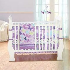 All a Flutter Bedding by Just Born - Baby Crib Bedding