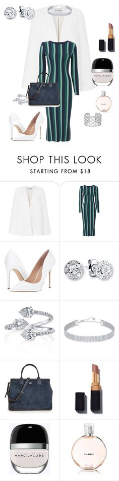 """""""Untitled #146"""" by talishaness-1 on Polyvore featuring Amanda Wakeley, Knitss, Steve Madden, Verdura, Swarovski, Kate Spade, Marc Jacobs and Chanel"""