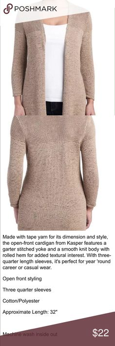 Kasper long sweater size m new New with tags Sweaters Cardigans