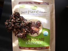 Living, Learning, Eating: Just Pure Foods Kale-Nola Review + GIVEAWAY! #vegsnackattack