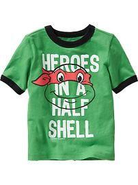 "Teenage Mutant Ninja Turtles™ ""Half Shell"" Tees for Baby"