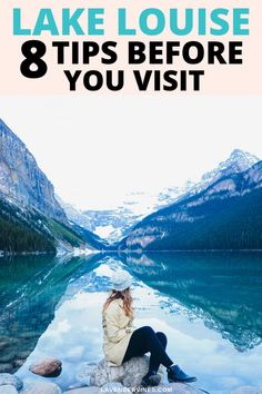 Looking for tips for visiting Lake Louise? Read more on things to do in Lake Louise so you have the best Banff National Park vacation! #lakelouise #banff #alberta #canada #BanffNationalPark #AlbertaCanada #travelplanning #travel #travelinspiration