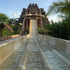 The water slide tower at Lost Mayan Kingdom Costa Maya #Mexico #letsgocarnival @carnivalcruise #travel #familytravel #caribbean #cruise #hosted