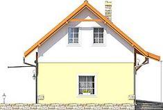 Elewacja lewa projektu Florek z garażem 1-st. [A] Furniture, Home Decor, Room Decor, Home Furnishings, Home Interior Design, Decoration Home, Arredamento, Home Improvement