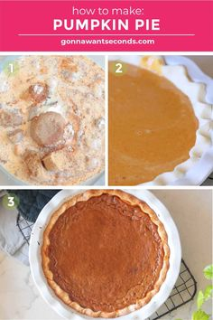 *NEW* This easy pumpkin pie with evaporated milk recipe has a rich velvety consistency chock full of warm fall spices and subtly sweet hues that beckon to taste buds near and far. #pumpkinpie #pierecipes #dessertrecipes #sweetpies Easy Pumpkin Pie, Pumpkin Pie Recipes, Milk Recipes, Dessert Recipes, Desserts, Evaporated Milk, Chock Full, Deep Dish, Taste Buds