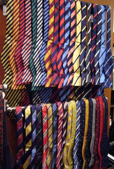 Diagonal lines.........Bow Ties - Brooks Brothers