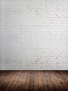 Custom vinyl cloth brick wall wood floor photo studio backgrounds for kids portrait photography photographic backdrops White Brick Walls, Brick And Wood, Studio Backdrops, Vinyl Backdrops, Picsart, Vintage Flowers Wallpaper, Photography Backdrops, Photography Studios, Portrait Photography