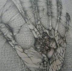 fred deux dessin | La Main blessée '', main souffrante, main guérisseuse main qui sauve ...